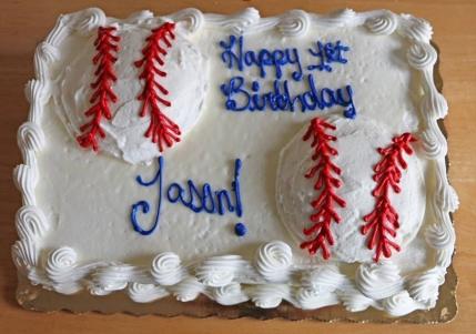Baby J's 1st Birthday Cake
